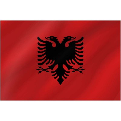Bandiera Albania 150 x 90 cm