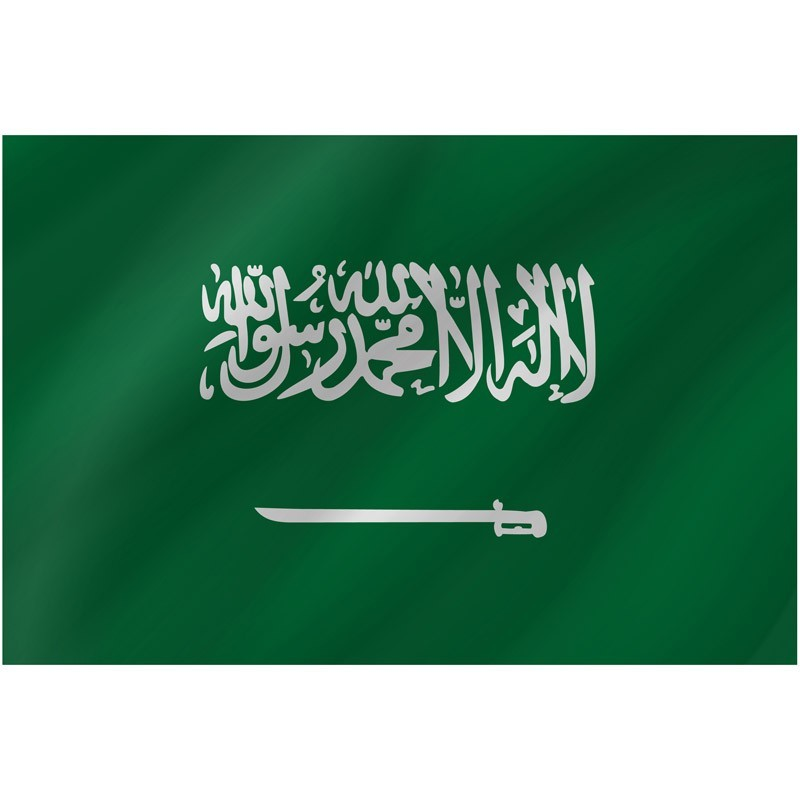 Bandiera Arabia Saudita 150 x 90 cm