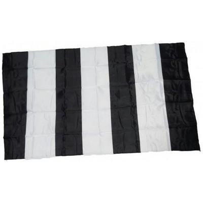 Bandiera Bianconera 150 x 90 a righe