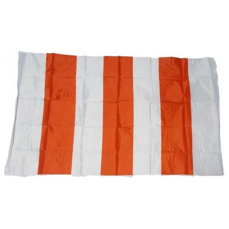 Bandiera Biancorossa 150 x 90 a righe