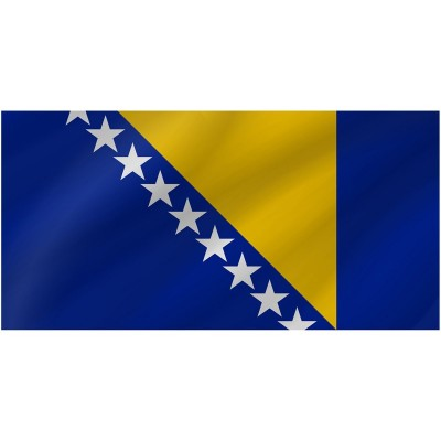 Bandiera Bosnia Erzegovina 150 x 90 cm