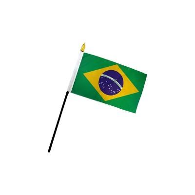 Bandiera Brasile 20 x 15 cm