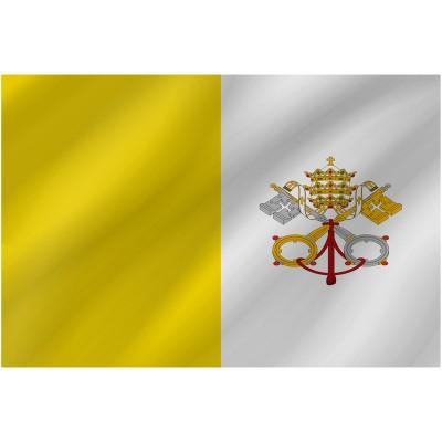 Bandiera Citta del Vaticano 150 x 90 cm