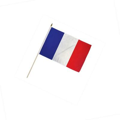 Bandiera Francia 20 x 15 cm