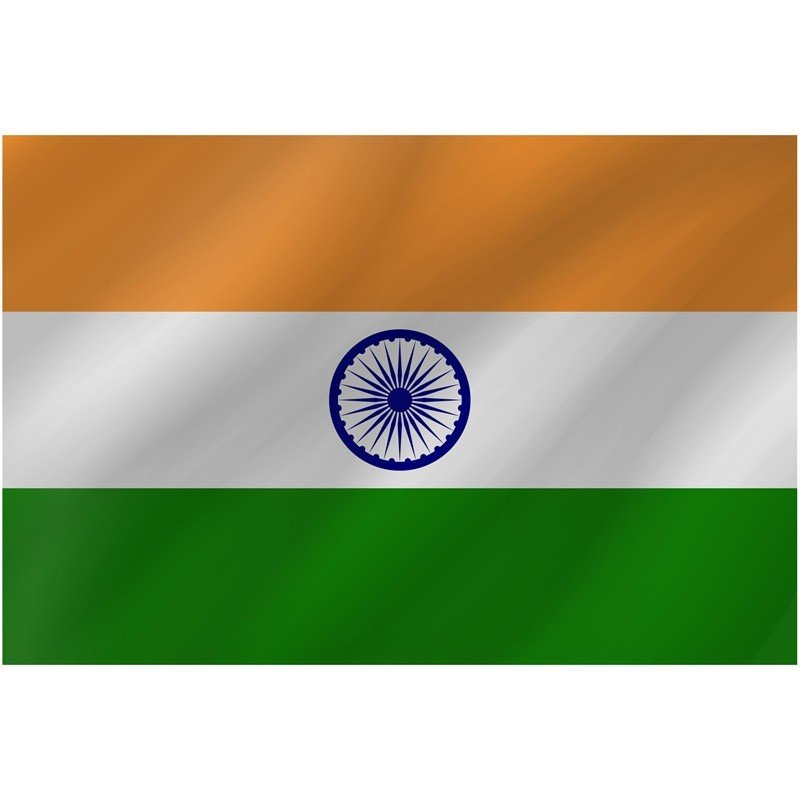 Bandiera India 150 x 90 cm