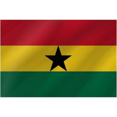Bandiera Ghana 150 x 90 cm