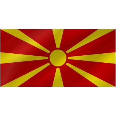 Bandiera Macedonia 150 x 90 cm
