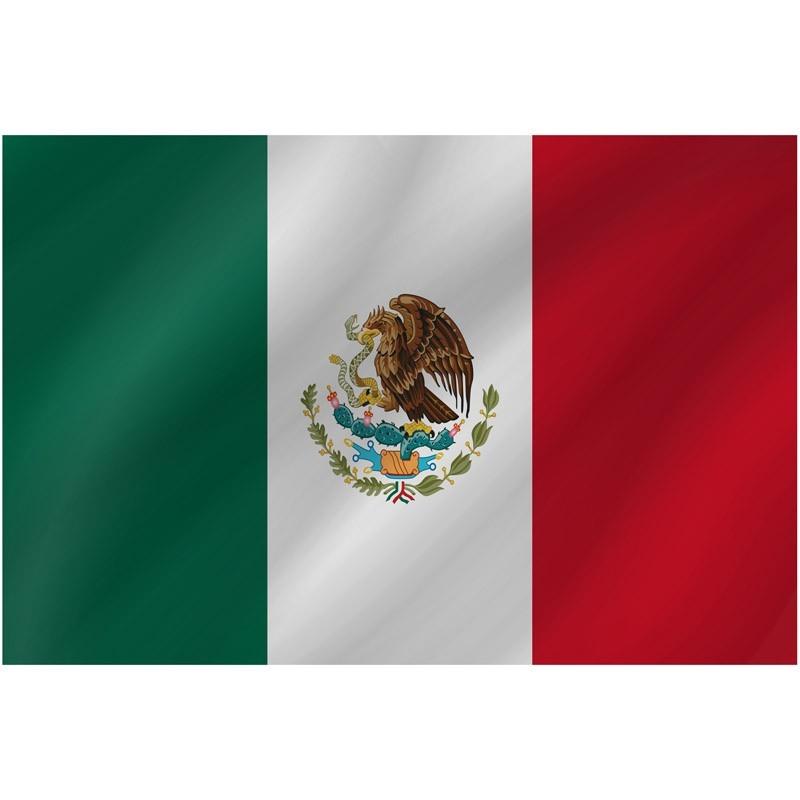 Bandiera Messico 150 x 90 cm