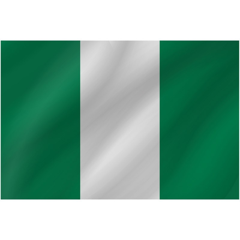 Bandiera Nigeria 150 x 90 cm