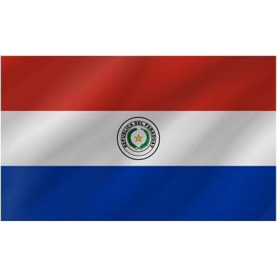 Bandiera Paraguay 150 x 90 cm
