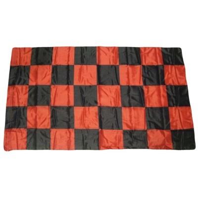 Bandiera Rossonera 150 x 90 a scacchi