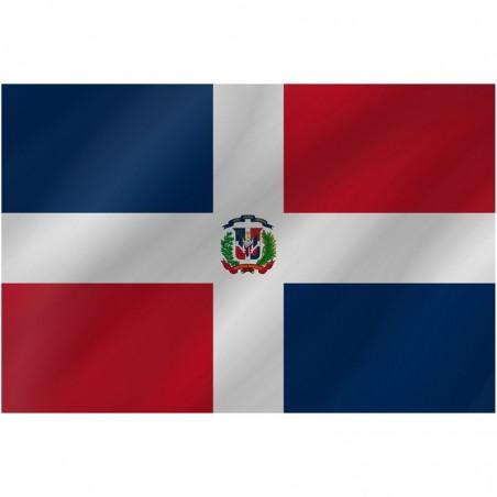 Bandiera Santo Domingo 150 x 90 cm