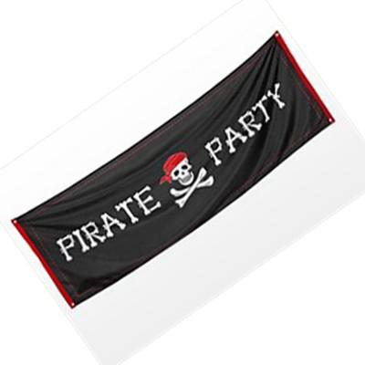 Banner Pirata Party 220 x 74 cm