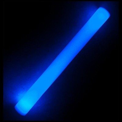 Bastone luminoso Blu 3 funzioni