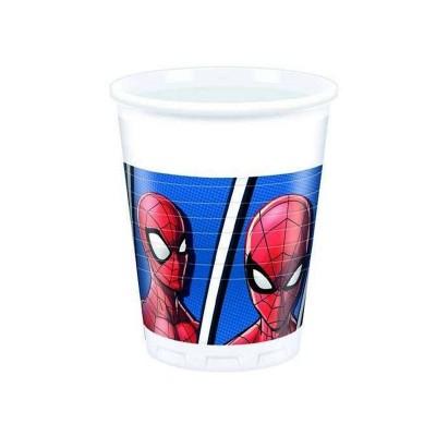 Bicchieri Spiderman - 8 pz