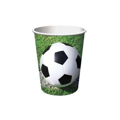 Bicchieri Calcio - 8 pz