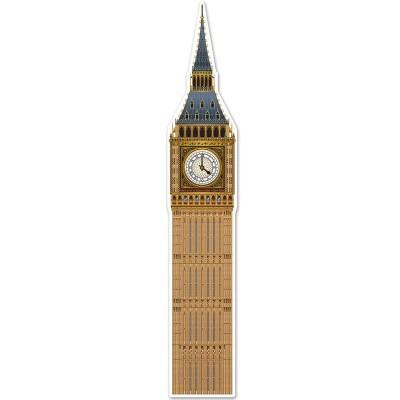 Big Ben in cartone da appendere