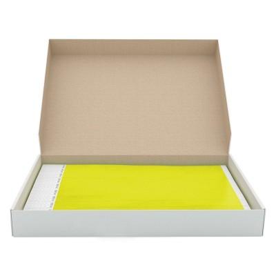 Braccialetti in Tyvek giallo - 1000 Pz