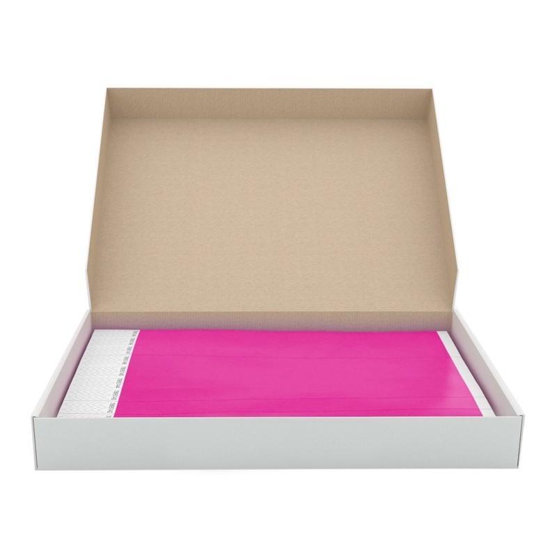 Braccialetti in Tyvek rosa - 1000 pz