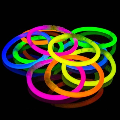Braccialetti Luminosi 100 pz Assortiti