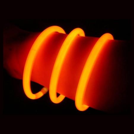 Braccialetti Luminosi Arancio - 100 pz