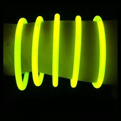 Braccialetti Luminosi Gialli - 100 pz