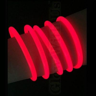 Braccialetti Luminosi Rossi - 100 pz