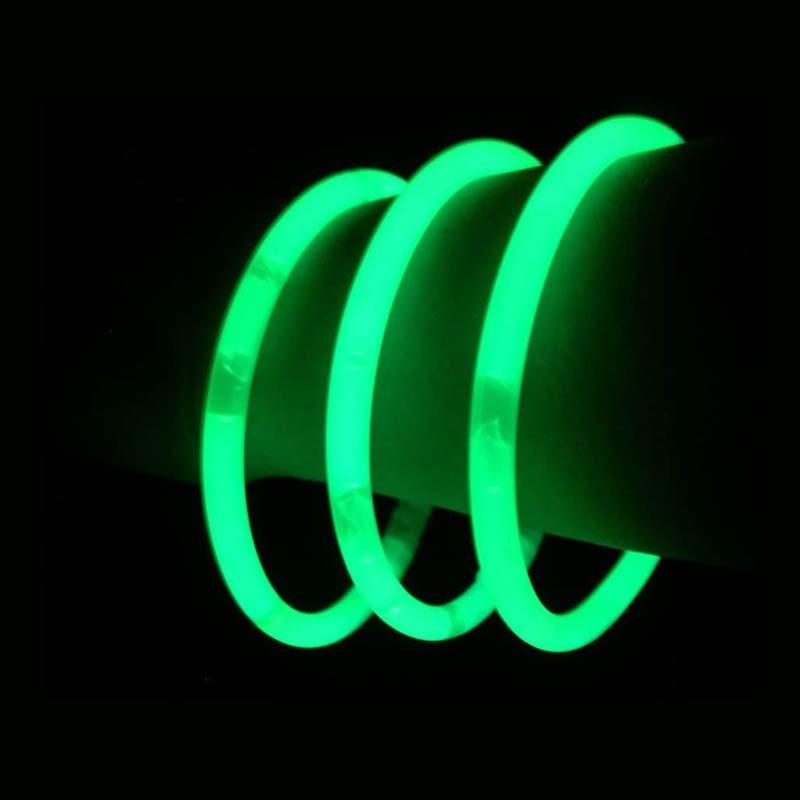 Braccialetti Luminosi Verdi - 100 pz
