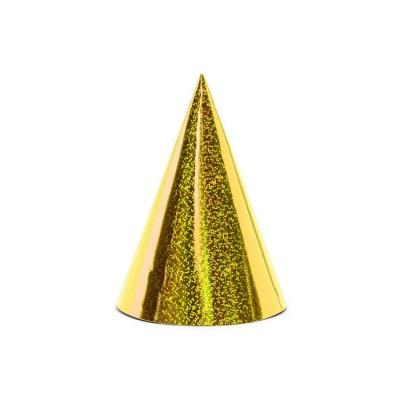 Cappellini party cono Oro - 6 pz