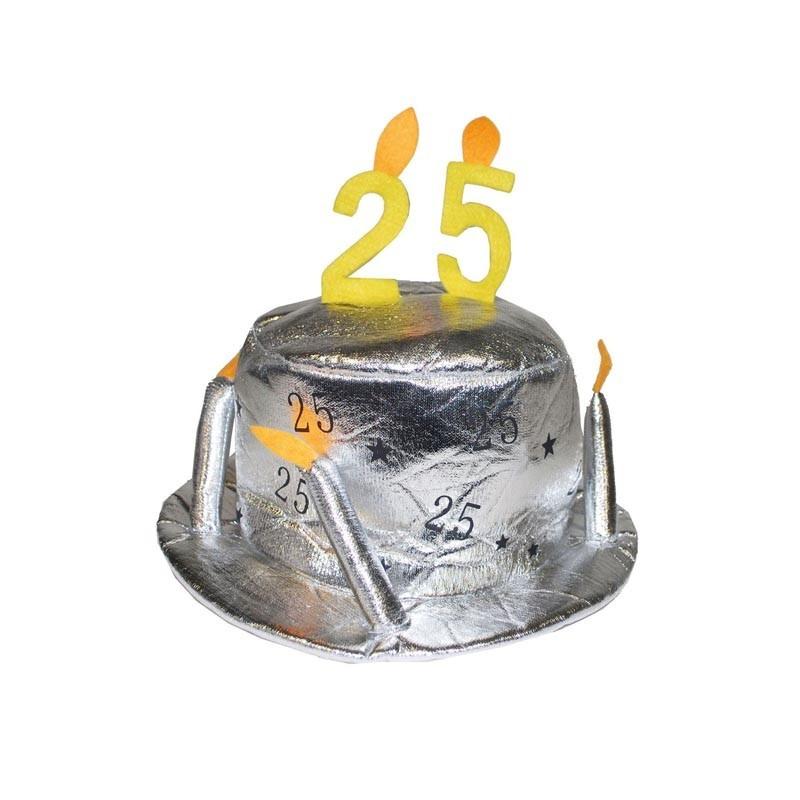 Cappello argento 25 Anni