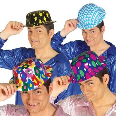 Cappello bombetta fantasia - 1 pz