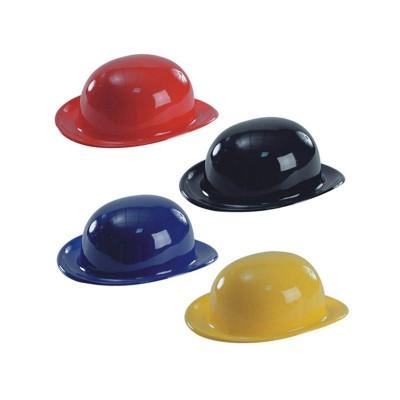 Cappello bombetta metal assortiti - 4 pz