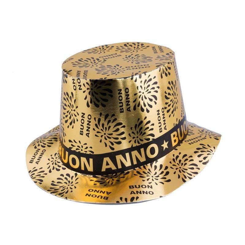 Cappello BUON ANNO Oro