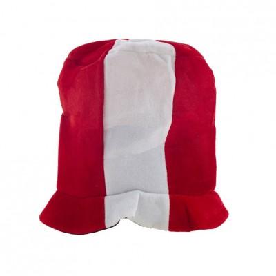 Cappello Cilindro Biancorosso