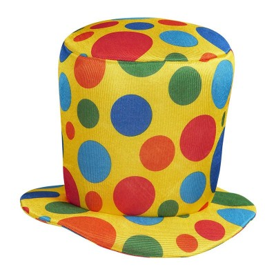 Cappello Clown a pois