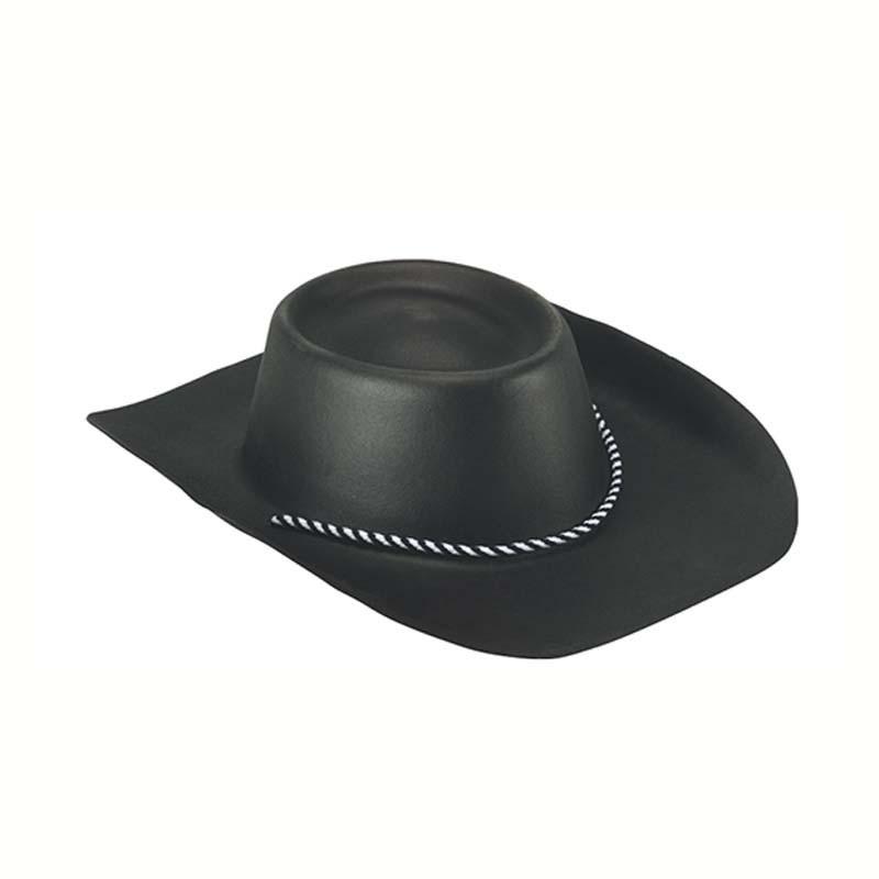 Cappello cowboy gomma eva nero