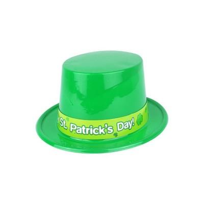 Cappello San Patrick Cilindro Plastica
