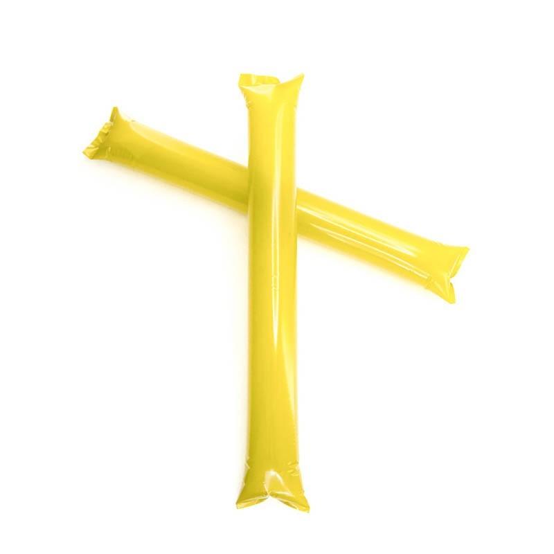 Clapper gonfiabili gialle - 1 coppia