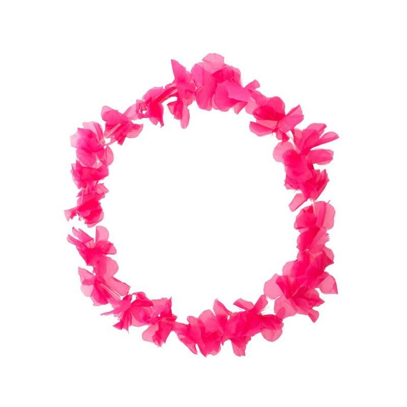 Party Hawaiano Bracciale Rosa