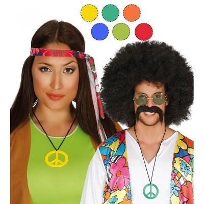 Collana Hippie plastica