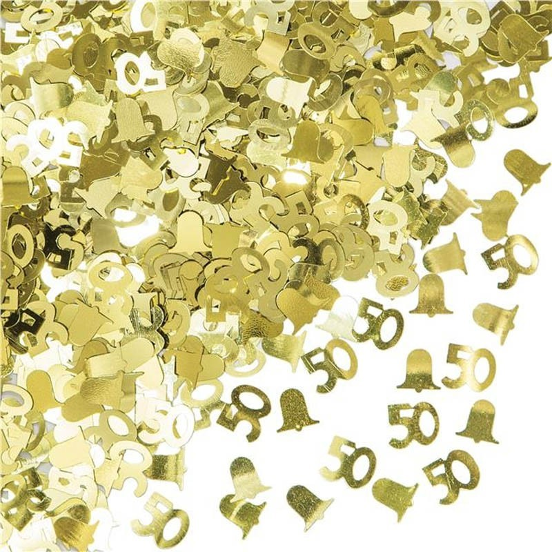 Coriandoli da Tavolo 50 oro