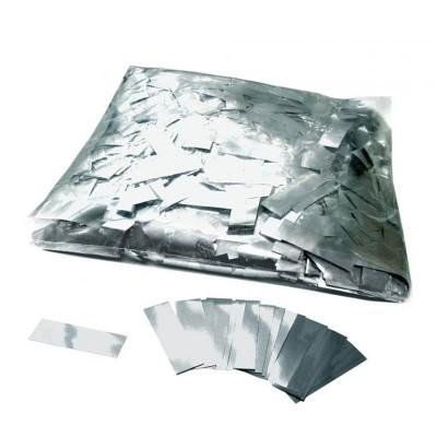Coriandoli grandi metallizzati Argento - 100 gr