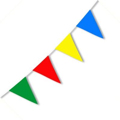Festone Bandierine PVC classiche 10 mt