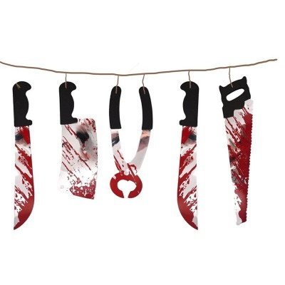 Festone Horror Lame Sangue