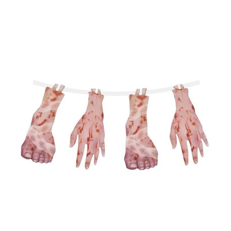 Festone Horror Mani sangue