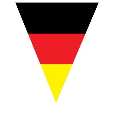 Festone PVC Bandierine Germania - 5 mt