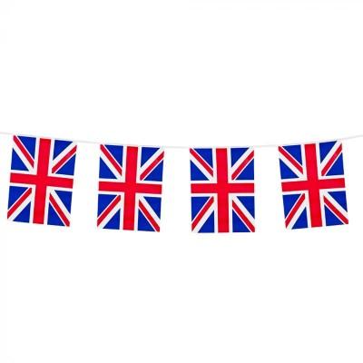 Festone PVC Bandierine Gran Bretagna 10 mt