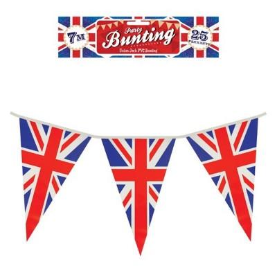 Festone PVC Bandierine Gran Bretagna 7 mt