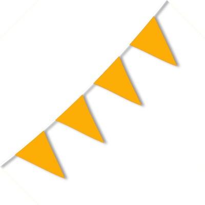 Festone PVC Monocolore Arancio 10 mt