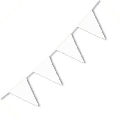 Festone PVC Monocolore Bianco 10 mt